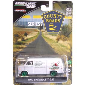 Greenlight Collectibles Green Machine County Roads series 7 Chevrolet G20 (1977) 29730 1/64
