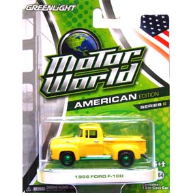Greenlight Collectibles Green Machine Ford Pickup F-100 (1956) R6 96060