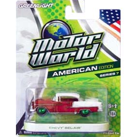 Greenlight Collectibles Green Machine Motor World 7 Chevy Bel-Air (1955) R7 96070