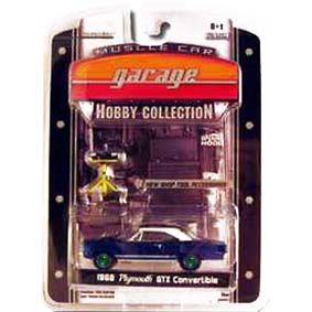 Greenlight Collectibles Green Machine Plymouth GTX Conversível (1968) R2 28620