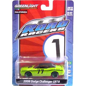 Greenlight Collectibles Green Machine Road Racers Dodge Challenger SRT8 (2008) 27600 1/64
