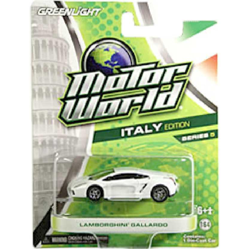 Greenlight Collectibles Lamborghini Gallardo Motor World R5 96050 escala 1/64