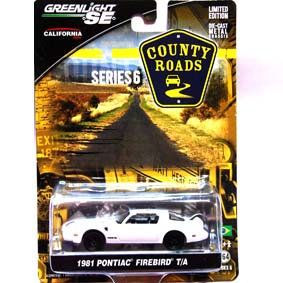 Greenlight County Roads esc 1/64 Pontiac Firebird Trans Am (1981) 1/64 R6 29710