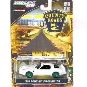 Greenlight County Roads GreenMachine Pontiac Firebird Trans Am (1981) R6 29710