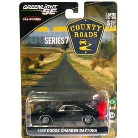 Greenlight County Roads series 7 Dodge Charger Daytona (1969) 29730 escala 1/64