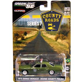 Greenlight County Roads series 7 Dodge Monaco - Boone County Police (1975) 29730