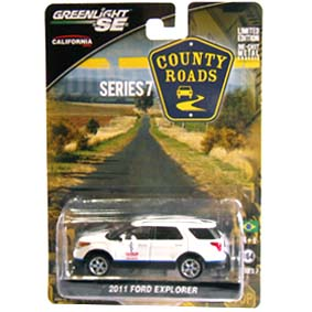 Greenlight County Roads series 7 Ford Explorer (2011) 29730 miniatura escala 1/64