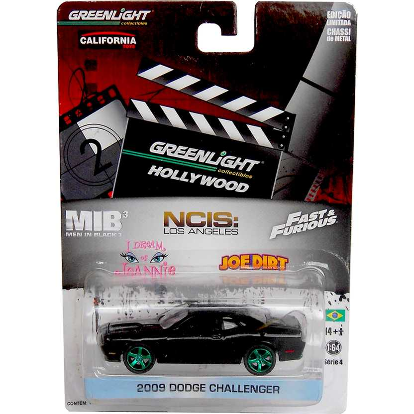 Greenlight Diecast Green Machine Hollywood 2009 Dodge Challenger NCIS 44640-X R4