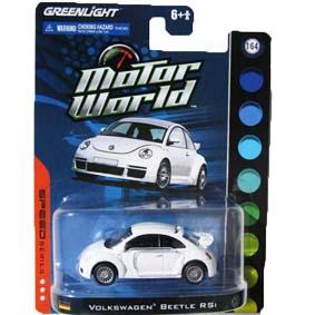 Greenlight escala 1/64 Miniatura VW New Beetle RSI Fusca Motor World R4 96040