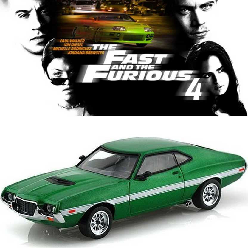 Greenlight Fast & Furious 4 1972 Ford Gran Torino Sport escala 1/43