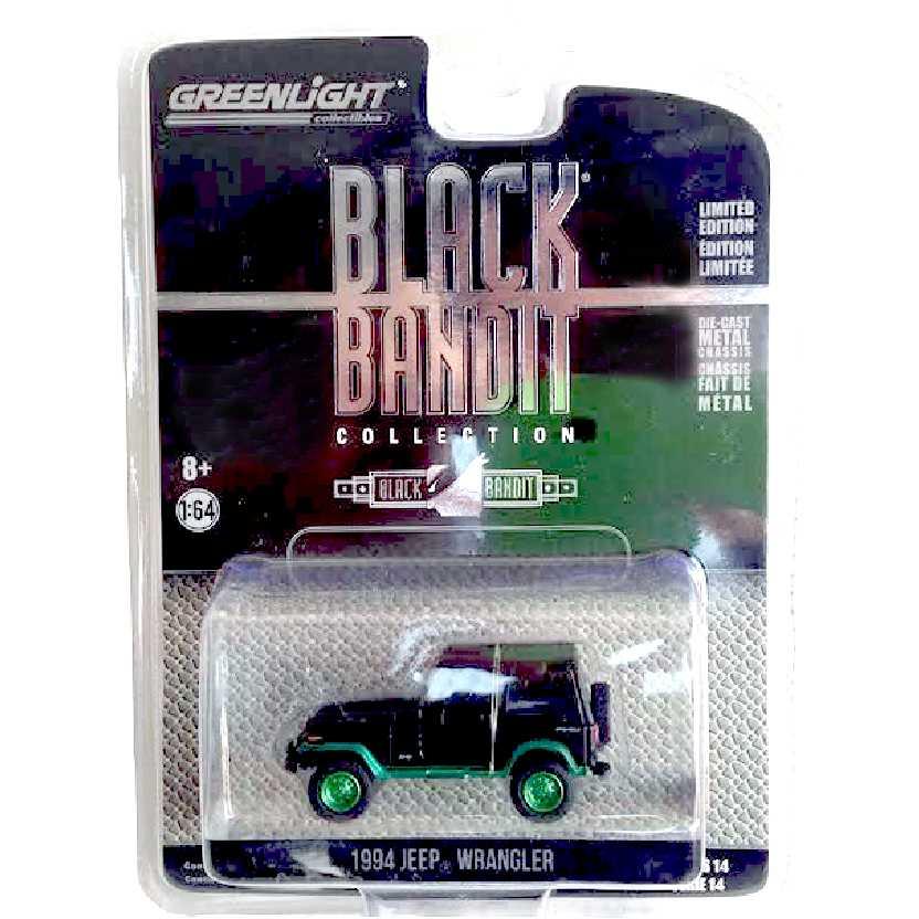 Greenlight Green Machine Black Bandit series 14 Jeep Wrangler (1994) escala 1/64 27840