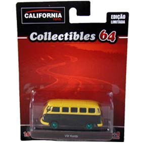 Greenlight Green Machine California Toys Collectibles 64 VW Kombi escala 1/64