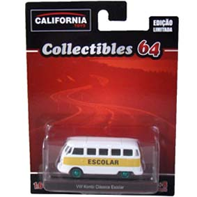 Greenlight Green Machine California Toys Collectibles 64 VW Kombi Escolar 1/64