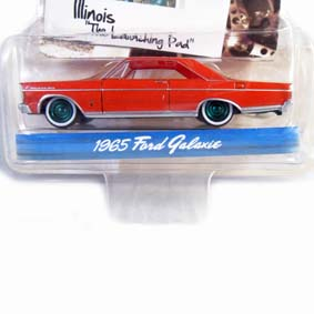 Greenlight Green Machine Collectibles Ford Galaxie (1965) Diecast 1/64 R1 29700