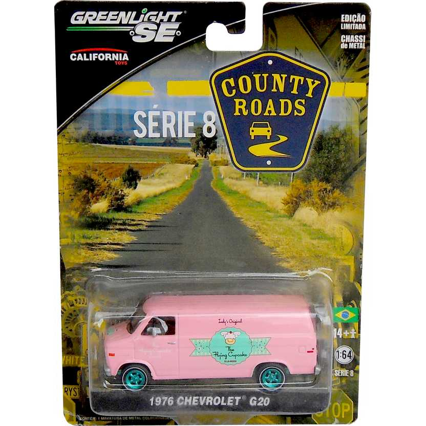 Greenlight Green Machine Collection County Roads R8 29740X 1976 Chevrolet G20