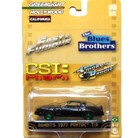 Greenlight Green Machine Hollywood Smokey and the Bandit Pontiac (1977) R1 44610