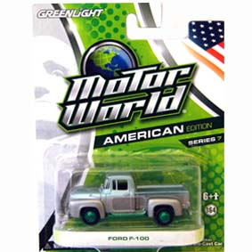 Greenlight Green Machine Motor World series 7 Pickup Ford F-100 (1956) R7 96070