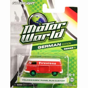 Greenlight green machine price guide scale 1/64 :: Motor World VW Kombi Panel Bus
