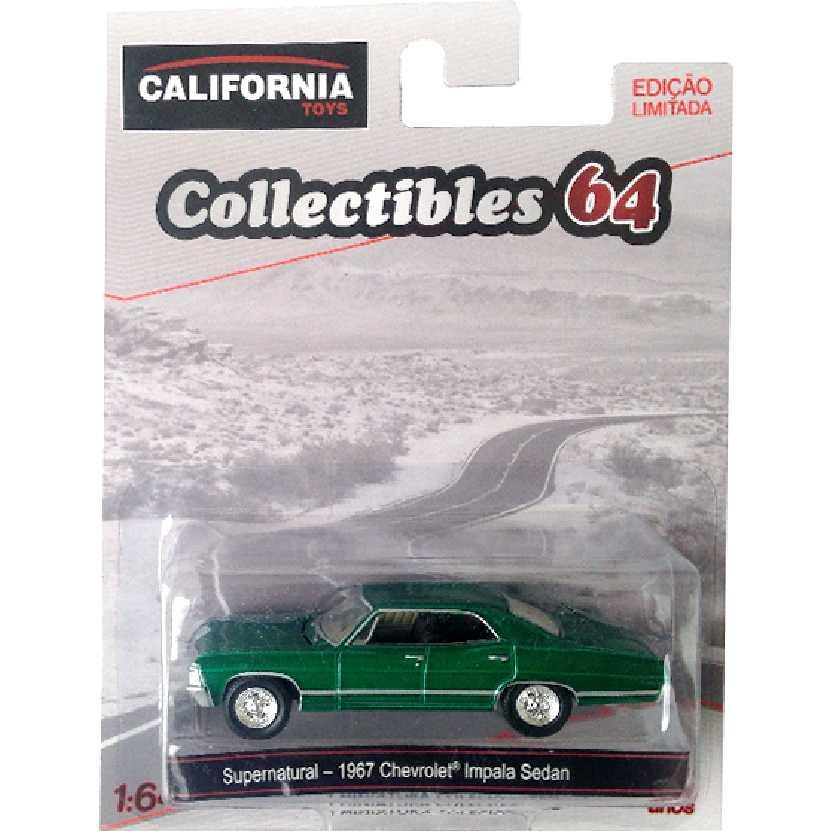 Greenlight Green Machine Supernatural 1967 Chevrolet Impala escala 1/64