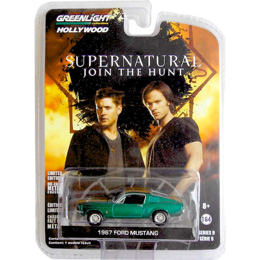 Greenlight Green Machine Supernatural 1967 Ford Mustang R9 44690 escala 1/64