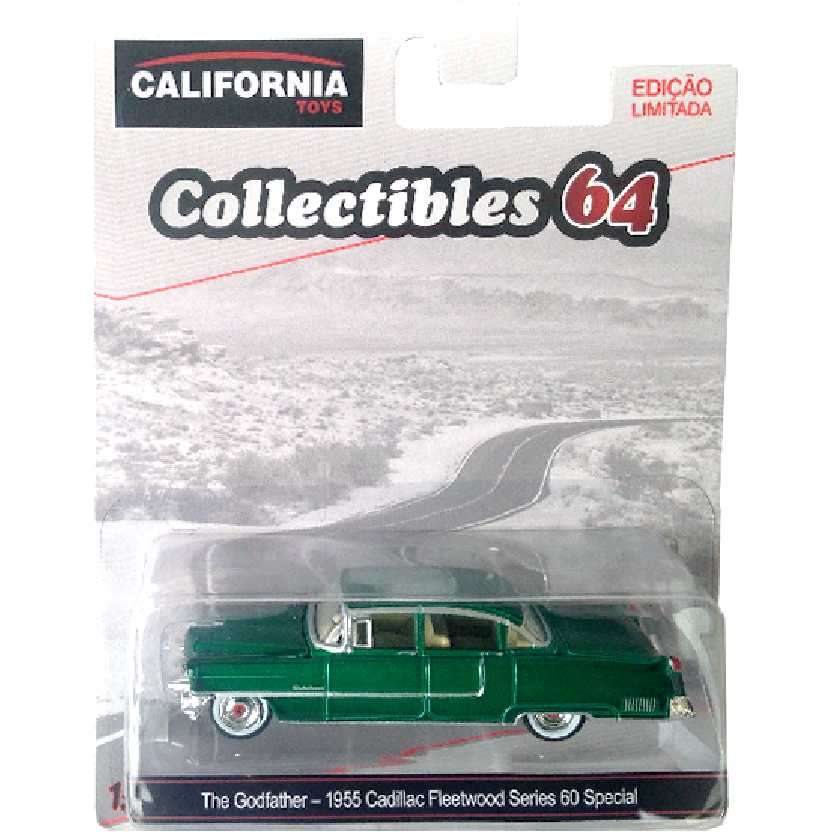Greenlight Green Machine The Godfather 1955 Cadillac Fleetwood Series 60 escala 1/64