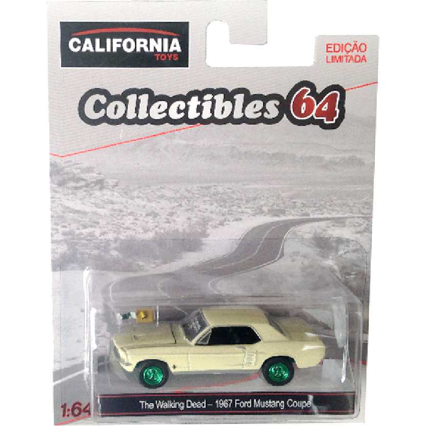 Greenlight Green Machine The Walking Dead 1967 Ford Mustang Coupe escala 1/64