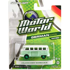 Greenlight Green Machine Volkswagen Samba Bus Motor World series 5 96050