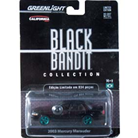 Greenlight Green Machines 2003 Mercury Marauder Black Bandit R6 27670