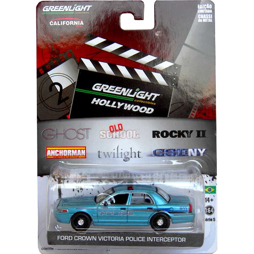 Greenlight Hollywood 44650-X  Crepúsculo (2008) Ford Crown Victoria Police Forks escala 1/64
