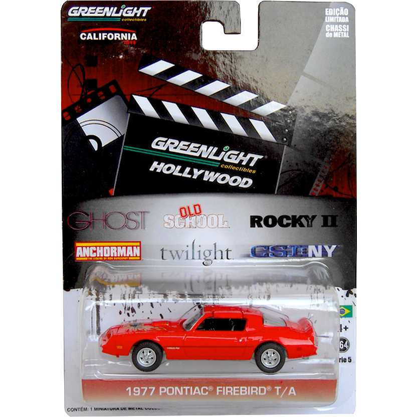 Greenlight Hollywood 44650-X - Old School - 1977 Pontiac Firebird Trans Am escala 1/64