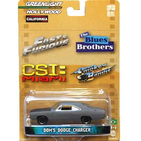 Greenlight Hollywood Collectibles 1/64 Dodge Charger (1970) R1 44610