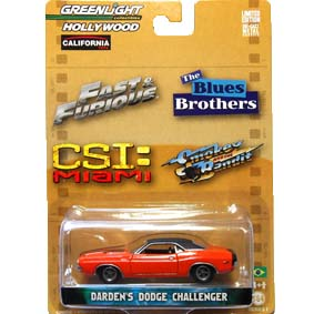 Greenlight hollywood Collectibles 2 Fast 2 Furious Dodge Challenger R1 44610