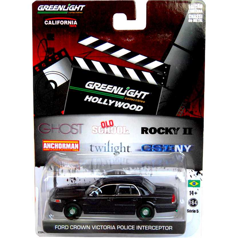 Greenlight Hollywood Green Machine - CSI: NY - 2008 Ford Crown Victoria Police New York