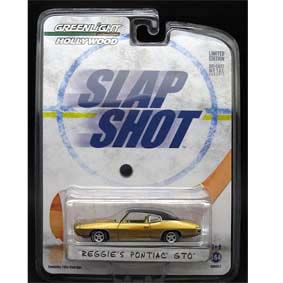 Greenlight Hollywood R2 44620 Reggies Pontiac GTO do filme Vale Tudo ( Slap Shot )
