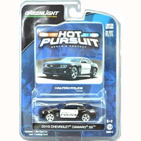 Greenlight Hot Pursuit R8 42650 :: 2010 Chevy Camaro Haltom TX Police