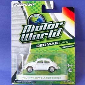 Greenlight Miniatura Motor World série 7 Volkswagen Classic Beetle (Fusca) R7 96070