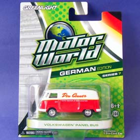 Greenlight Miniatura Motor World série 7 Volkswagen Panel bus (Kombi) R7 96070