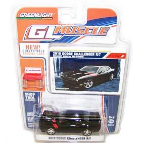 Greenlight Miniaturas Carros escala 1/64 Dodge Challenger R/T (2010) R2 13020
