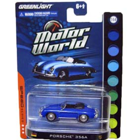 Greenlight Miniaturas escala 1/64 Porsche 356A (1958) Motor World R4 96040
