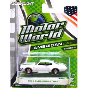 Greenlight Motor World Collectibles série 6 Oldsmobile 442 (1969) R6 96060