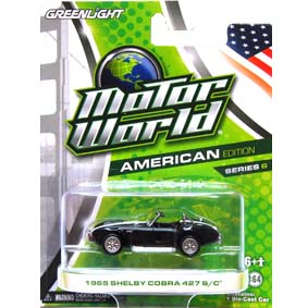 Greenlight Motor World Collectibles série 6 Shelby Cobra (1965) R6 96060
