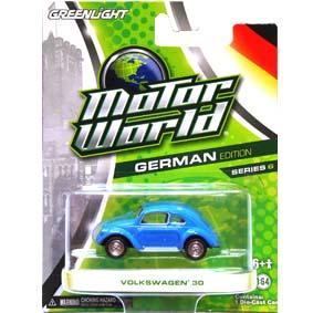 Greenlight Motor World Collectibles série 6 VW 30 Fusca Motor World R6 96060
