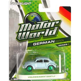 Greenlight Motor World Green Machines série 6 :: VW Beetle Fusca R6 96060 1/64
