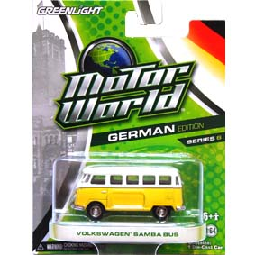 Greenlight Motor World série 6 VW Kombi Volkswagen Panel Bus R6 96060