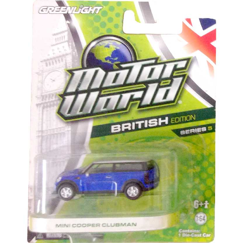 Greenlight Motor World series 5 Mini Cooper Clubman R5 96050 escala 1/64
