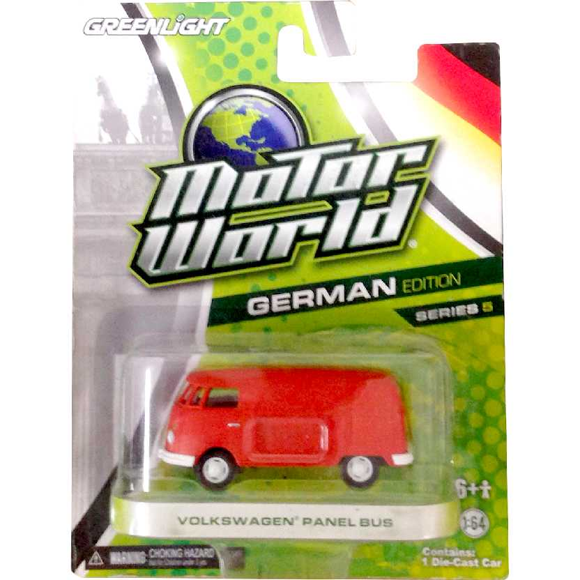 Greenlight Motor World series 5 Volkswagen Panel bus ( VW Kombi) R5 96050 escala 1/64