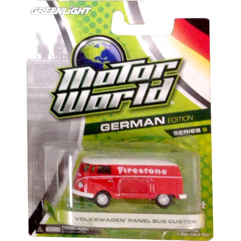 Greenlight Motor World series 5 VW Panel bus Firestone (Kombi) R5 96050 escala 1/64