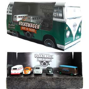 Greenlight Motor World Volkswagen Drive in Theater ( Kombi green machine ) 58008