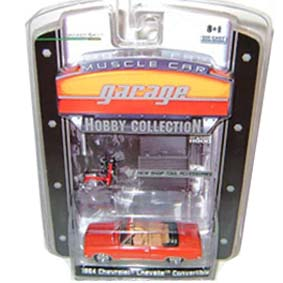 Greenlight Muscle Car Garage Hobby Chevrolet Chevelle Conversível (1964) R2 28620