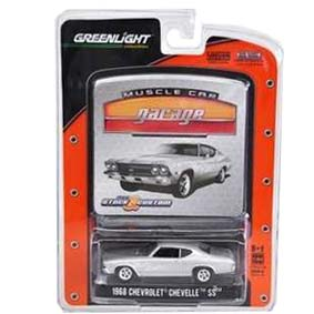 Greenlight Muscle Car Garage R10 12680 Miniatura Chevrolet Chevelle SS (1968)